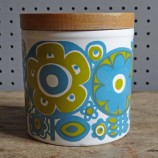 Elayne Fallon Weston storage jar, blue