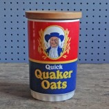 Lord Nelson Quick Quaker Oats storage jar