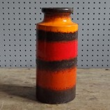 Striped Scheurich vase 203-22