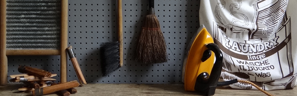 'Wash & Brush Up' H is for Home shop department